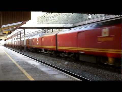 Class 325 Royal Mail train at Crewe