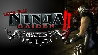 Ninja Gaiden 2 - CH1 [Master Ninja] (All Weapons)