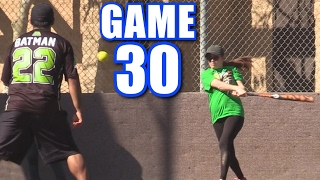 CIARA TRIES TO MURDER BATMAN! | Offseason Softball League | Game 30