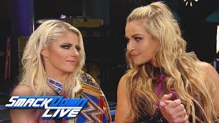 Natalya interrupts two-time SmackDown Women's Champion Alexa Bliss: SmackDown LIVE: Feb. 28, 2017