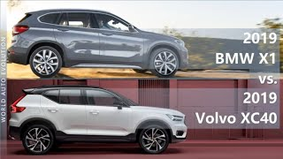 2019 BMW X1 vs 2019 Volvo XC40 (technical comparison)