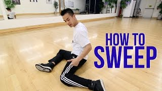 How to Breakdance: Sweeps | Flow Basics