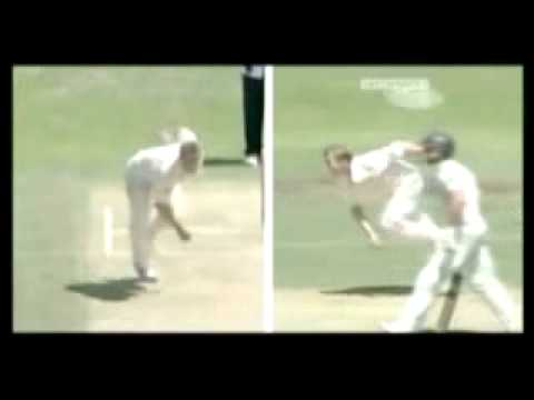 Detailed Brett Lee Bowling Action Slow Mo. video