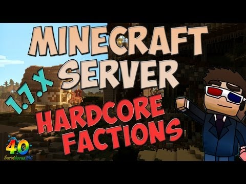 40sMC Minecraft Server Hardcore Factions 1.7.2 - 1.7.5 | No Premium - No hamachi