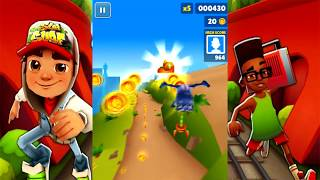 Subway Surfers Gameplay Best Players 2019 🍎 Fun Games For Kids To Play Free At Home