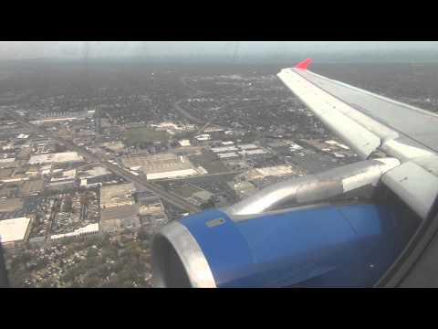 Onboard | Spirit Airlines Airbus A319-132 Landing Chicago O'Hare International | HD