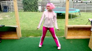 LazyTown - Viivi13 dancing to I Can Move (English)