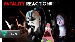 Friends React To MORTAL KOMBAT X Fatalities!