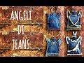 Angeli Di Natale In Jeans Natale Riciclo Arte Per Te mp3