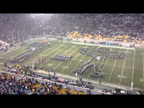 Notre Dame Band Reenacts Dorais To Rockne