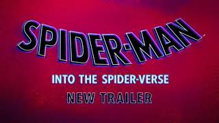 Spider man into the spider verse official trailer full HD