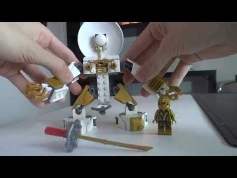 LEGO Ninjago Custom : LLOYD's New GOLD MECH