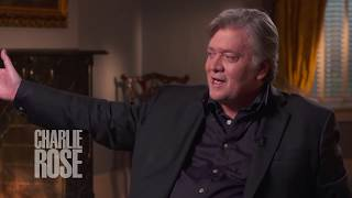 "Steve Bannon on talking to Roger Ailes about  ""Trump TV"" (Sept 11, 2017) 