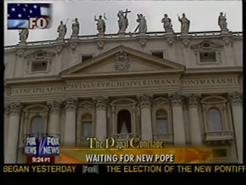 Pope Benedict election Live on Fox News