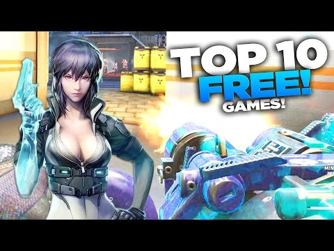 TOP 10 FREE Steam Games (2017) NEW!