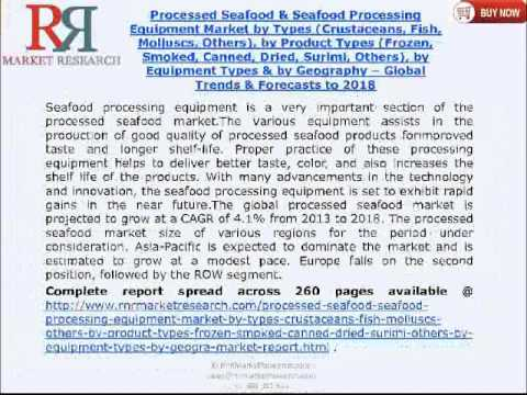 Processed Seafood Market & Seafood Processing Equipment Market 2018