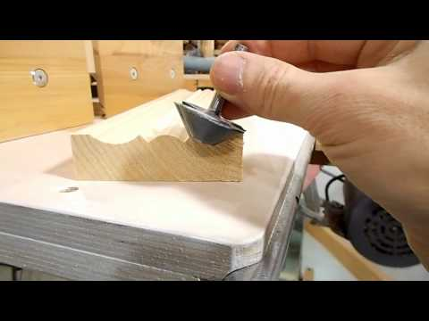 Molding tricks with a tilting router lift