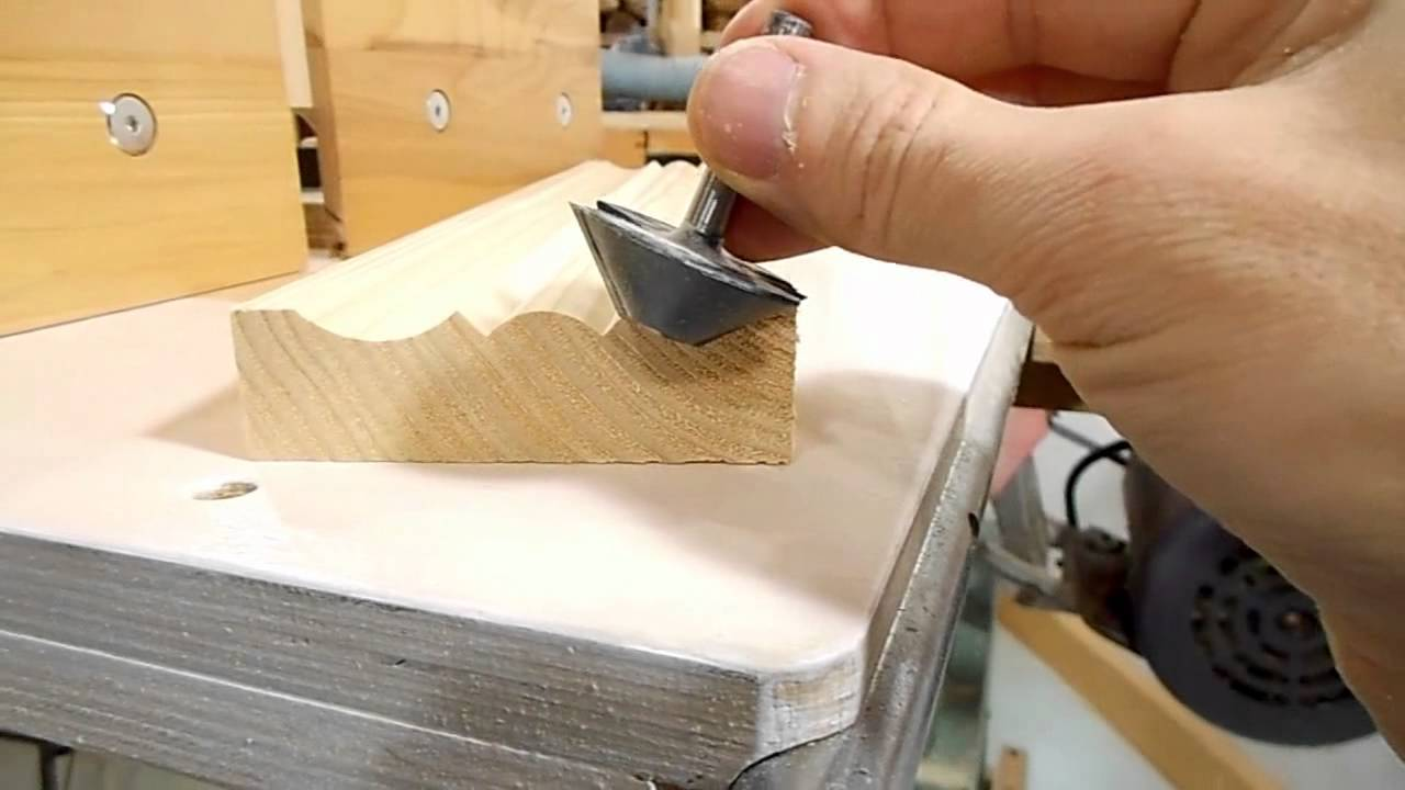 Molding Tricks With A Tilting Router Lift Youtube