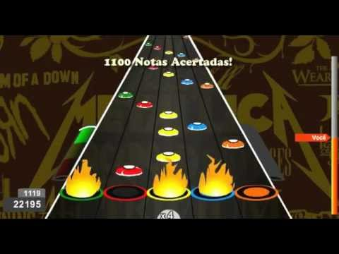Canon Rock - Jerry C  100% Fc Expert - Guitar Flash Custom (versão Teste) video