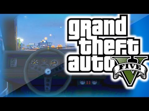 GTA 5 Online Funny Moments 26 -  First Person Glitch, Sticky Bomb Fun, And Basically's Dad!