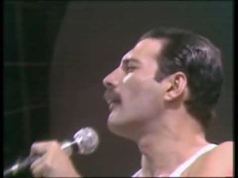 Queen - Radio GaGa  - Live Aid : Wembley London 1985 youtube:ihowell67