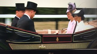 British Royal Family Arrive & Meghan's Debut ALL MOMENTS - Royal Ascot Day 1 - 2018