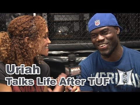 UFCs Uriah Hall on Training With Munoz Ellenberger  Rousey Throwing Gastelum Fight