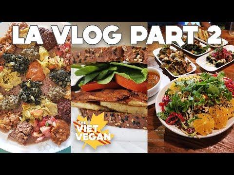 ✈ VEGAN TRAVEL VLOG // BEYOND SAUSAGE Taste Test // Part 2 ✈