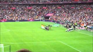Team GB V Brazil Women's Olympic Football, London
