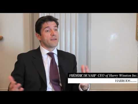 An interview with Frédéric de Narp, CEO of Harry Winston Inc. | Harrods Magazine, December 2012