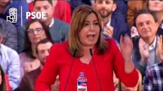 Susana Díaz con los alcaldes socialistas