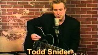 Watch Todd Snider New Connection video