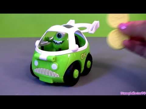 Imaginext Cars Mike + Sulley Monsters University Toys Disney Pixar Monsters Inc 2 by Disneycollector
