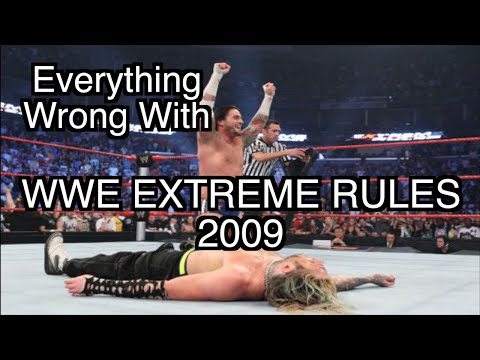 Episode #105: Everything Wrong With WWE Extreme Rules 2009