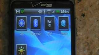 HTC Thunderbolt On Screen Widget, How to turn 4G on and off From Screen