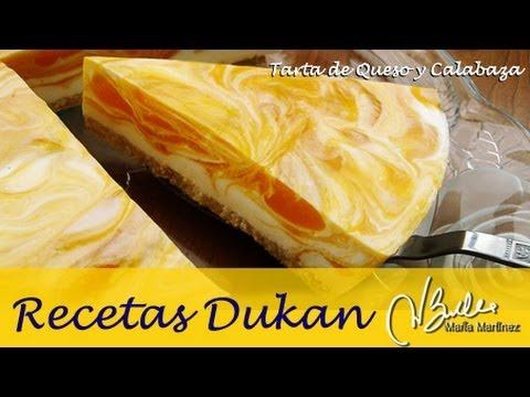 Tarta Dukan de queso y Calabaza (fase Crucero) / Dukan Diet Pumpkin Cheesecake