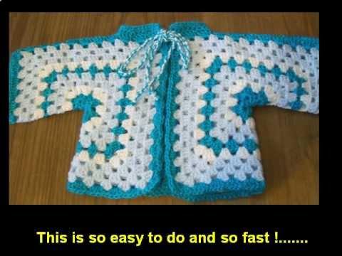 Crochet Hexagon Cardigan And Sweater Youtube