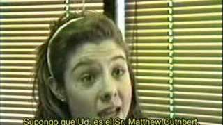 Extras - Audición Megan Follows (subtitulado)