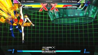 UMvC3 CTRL Unknown vs CFD Hi Im Nasty - The RunBack Pre SCR 2014