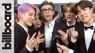 Bts Thanks Army For Helping Them 34 Live The Dream 34 Grammys