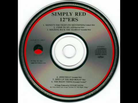Simply Red - Holding Back The Years (12'' Extended Mix)