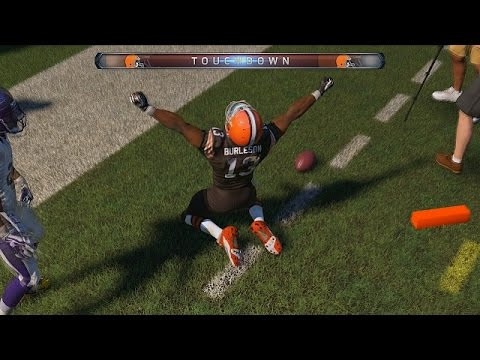 Madden 15 Gameplay!  (Johnny Manziel Hype!)