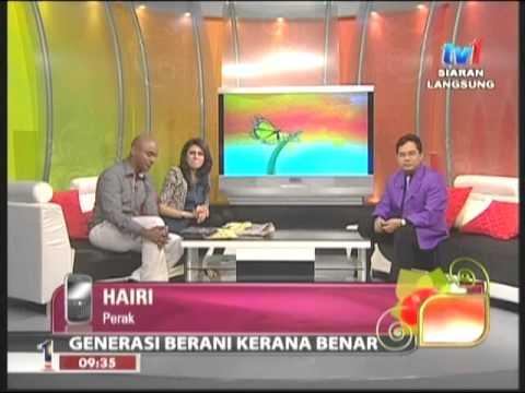 TV1 Selamat Pagi Malaysia 14-04-2012 Dr. Hm Tuah Iskandar Al-Haj