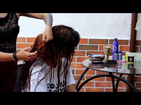 Cómo remover el color negro del cabello / Tutorial /  Lady maquillajes