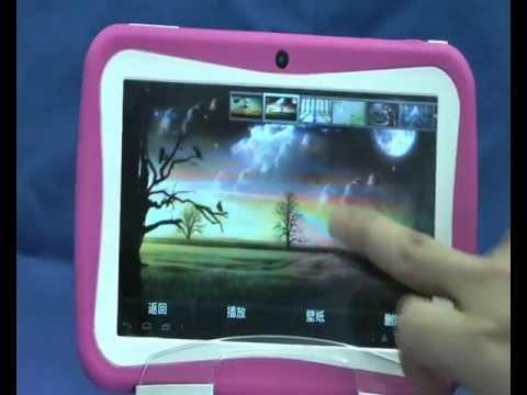 - M755 Children Tablet PC 7 inch Boxchip A13 Cortex A8 1.2GHz