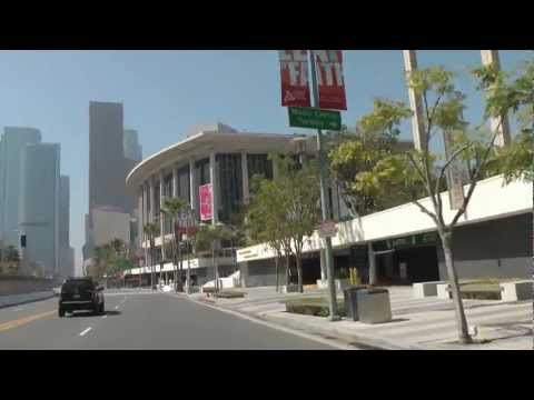 Road Trip USA Part 14 : Los Angeles Downtown - Dodger Stadium - Match Baseball Dodgers / Rockies