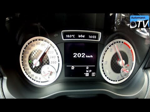 2013 Mercedes A200 CDI Sport - First Autobahn-Test (1080p FULL HD)