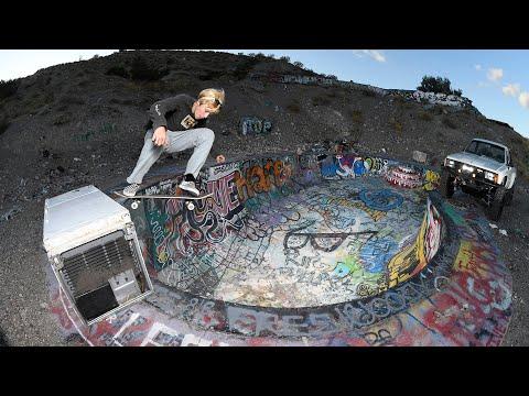 "CJ Collins ""Truly Off Road"" | High Desert Skateboarding"