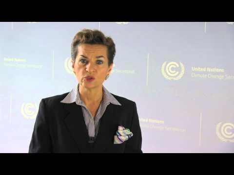 Christiana Figueres agradece al IICA y anima a los países a participar en la COP19