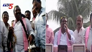TRS Leader Aroori Ramesh Election Campaigning At Vardhana peta